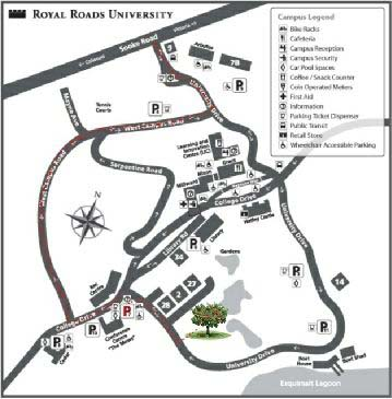 Map: Royal Roads - BC Fruit Testers Association